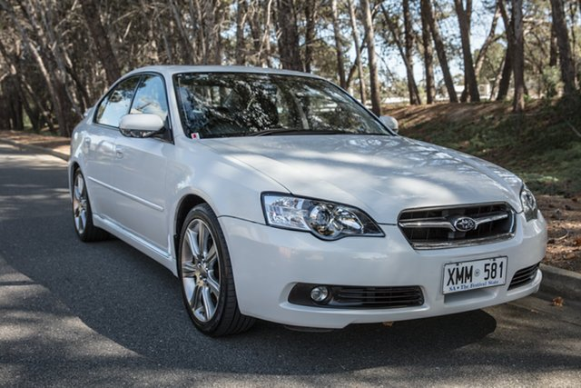 Used Subaru Liberty B4 MY06 3.0R Spec.B AWD, 2006 Subaru Liberty B4 MY06 3.0R Spec.B AWD White 5 Speed Sports Automatic Sedan