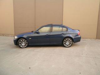 2006 BMW 3 Series E90 Midnight Blue 6 Speed Sports Automatic Sedan