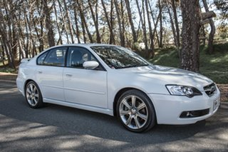 2006 Subaru Liberty B4 MY06 3.0R Spec.B AWD White 5 Speed Sports Automatic Sedan.
