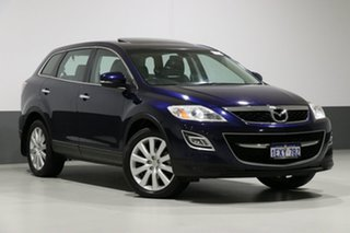 2010 Mazda CX-9 09 Upgrade Luxury Blue 6 Speed Auto Activematic Wagon.