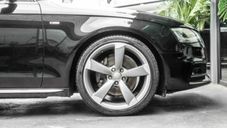2013 Audi A4 B8 8K MY13 S Tronic Quattro Black 7 Speed Sports Automatic Dual Clutch Sedan