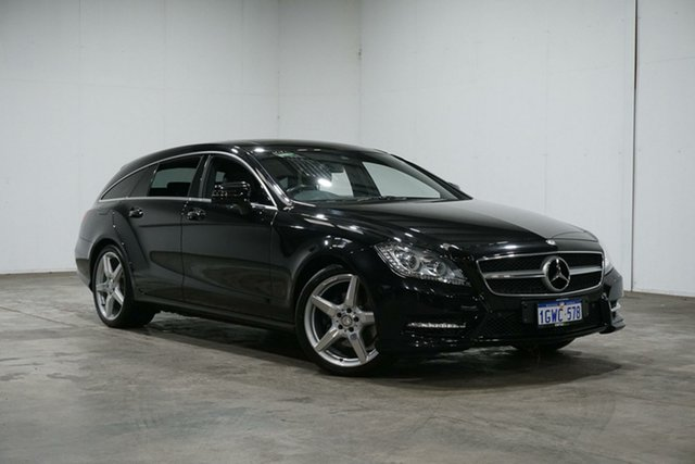 Used Mercedes-Benz CLS-Class X218 CLS250 CDI BlueEFFICIENCY 7G-Tronic + Shooting Brake, 2013 Mercedes-Benz CLS-Class X218 CLS250 CDI BlueEFFICIENCY 7G-Tronic + Shooting Brake Black 7 Speed