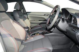 2020 Hyundai Elantra AD.2 MY20 Sport DCT Premium Polar White 7 Speed Sports Automatic Dual Clutch