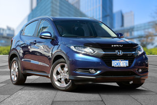 2018 Honda HR-V MY17 VTi-S Morpho Blue 1 Speed Constant Variable Hatchback.