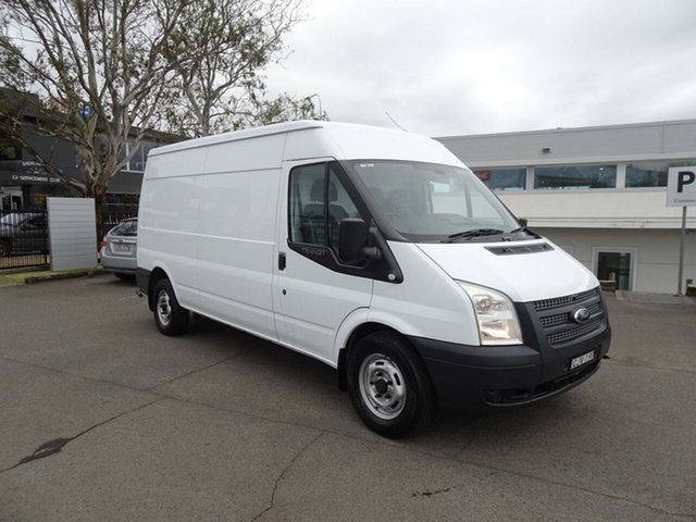 Used Ford Transit VM 350 High Roof LWB, 2012 Ford Transit VM 350 High Roof LWB Frozen White 6 Speed Manual Van