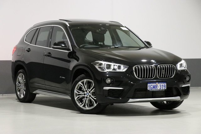 Used BMW X1 F48 MY17 xDrive 20D, 2017 BMW X1 F48 MY17 xDrive 20D Black 8 Speed Automatic Wagon