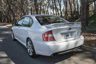 2006 Subaru Liberty B4 MY06 3.0R Spec.B AWD White 5 Speed Sports Automatic Sedan