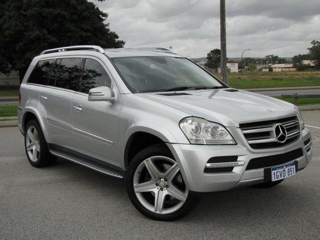 Used Mercedes-Benz GL-Class X164 MY11 GL450 CDI 7G-Tronic Luxury, 2012 Mercedes-Benz GL-Class X164 MY11 GL450 CDI 7G-Tronic Luxury Silver 7 Speed Sports Automatic