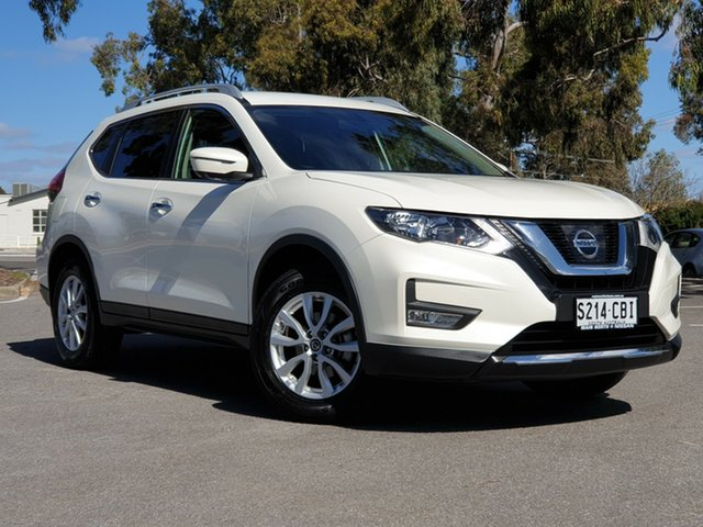 Used Nissan X-Trail T32 Series II ST-L X-tronic 2WD, 2018 Nissan X-Trail T32 Series II ST-L X-tronic 2WD Pearl White 7 Speed Constant Variable Wagon