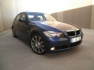 2006 BMW 3 Series E90 Midnight Blue 6 Speed Sports Automatic Sedan.