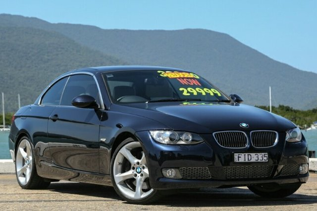 Used BMW 3 Series E93 MY09.5 , 2009 BMW 3 Series E93 MY09.5 Blue 7 Speed Sports Automatic Dual Clutch Convertible