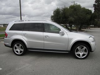 2012 Mercedes-Benz GL-Class X164 MY11 GL450 CDI 7G-Tronic Luxury Silver 7 Speed Sports Automatic.