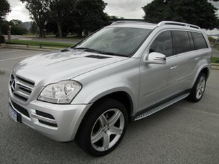 2012 Mercedes-Benz GL-Class X164 MY11 GL450 CDI 7G-Tronic Luxury Silver 7 Speed Sports Automatic