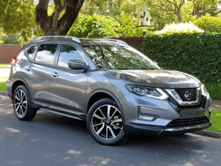 2019 Nissan X-Trail T32 Series II Ti X-tronic 4WD Gun Metallic 7 Speed Constant Variable Wagon.
