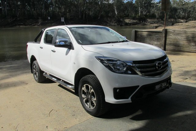 Demo Mazda BT-50  , Mazda BT-50 XTR White 6 Speed Automatic Dual Cab