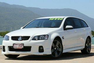 2012 Holden Commodore VE II MY12.5 SV6 Sportwagon Z Ser White 6 Speed Semi Auto Wagon.