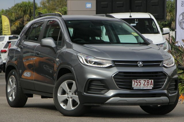 Demo Holden Trax TJ MY19 LS, 2019 Holden Trax TJ MY19 LS Satin Steel Grey 6 Speed Automatic Wagon