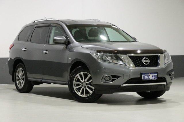 Used Nissan Pathfinder R52 MY15 Upgrade ST (4x2), 2016 Nissan Pathfinder R52 MY15 Upgrade ST (4x2) Grey Continuous Variable Wagon
