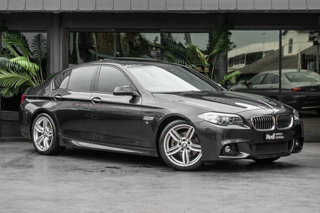 Used BMW 520i F10 LCI Luxury Line Steptronic, 2014 BMW 520i F10 LCI Luxury Line Steptronic Grey 8 Speed Sports Automatic Sedan