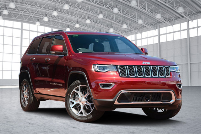 Used Jeep Grand Cherokee WK MY19 Limited, 2019 Jeep Grand Cherokee WK MY19 Limited Velvet Red 8 Speed Sports Automatic Wagon