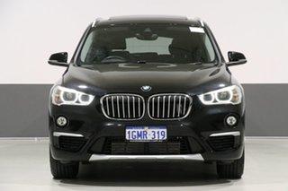 2017 BMW X1 F48 MY17 xDrive 20D Black 8 Speed Automatic Wagon.