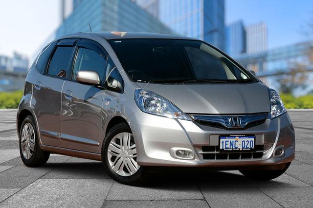 Used Honda Jazz GE MY13 Hybrid, 2014 Honda Jazz GE MY13 Hybrid Silver 1 Speed Constant Variable Hatchback Hybrid