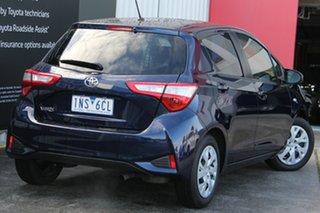 2018 Toyota Yaris NCP131R SX Dynamic Blue 5 Speed Manual Hatchback.