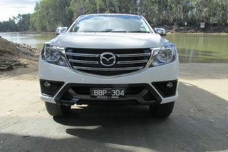 Mazda BT-50 XTR White 6 Speed Automatic Dual Cab