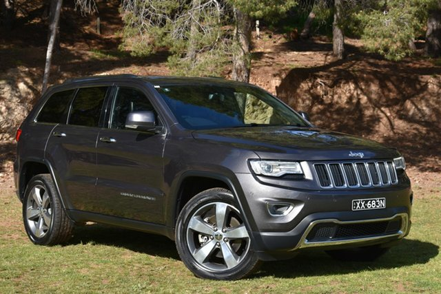 Used Jeep Grand Cherokee WK MY15 Limited, 2015 Jeep Grand Cherokee WK MY15 Limited Grey 8 Speed Sports Automatic Wagon