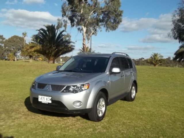 Used Mitsubishi Outlander ZG MY09 LS, 2009 Mitsubishi Outlander ZG MY09 LS 6 Speed Constant Variable Wagon
