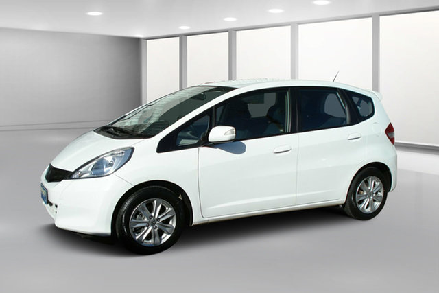 Used Honda Jazz GE MY12 Vibe, 2012 Honda Jazz GE MY12 Vibe White 5 Speed Automatic Hatchback