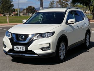 2018 Nissan X-Trail T32 Series II ST-L X-tronic 2WD Pearl White 7 Speed Constant Variable Wagon.