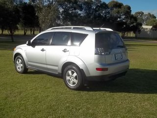 2009 Mitsubishi Outlander ZG MY09 LS Silver 5 Speed Manual Wagon