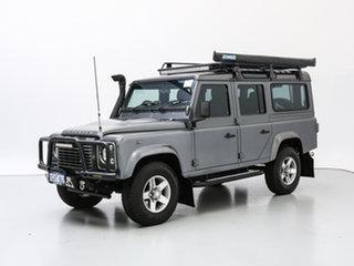 2015 Land Rover Defender MY16 110 (4x4) Grey 6 Speed Manual Wagon.
