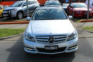 2011 Mercedes-Benz C250 W204 MY11 CDI Avantgarde BE Silver 7 Speed Automatic G-Tronic Sedan.