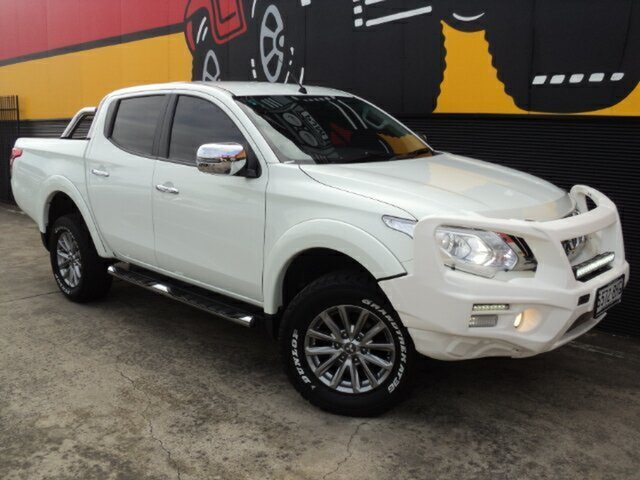 Used Mitsubishi Triton MQ MY16 GLS Double Cab, 2015 Mitsubishi Triton MQ MY16 GLS Double Cab Alpine White 6 Speed Manual Utility