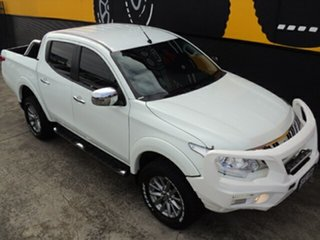 2015 Mitsubishi Triton MQ MY16 GLS Double Cab Alpine White 6 Speed Manual Utility