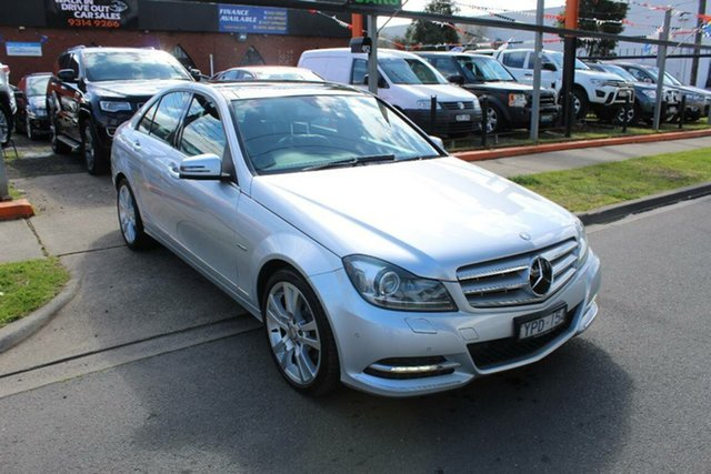 Used Mercedes-Benz C250 W204 MY11 CDI Avantgarde BE, 2011 Mercedes-Benz C250 W204 MY11 CDI Avantgarde BE Silver 7 Speed Automatic G-Tronic Sedan