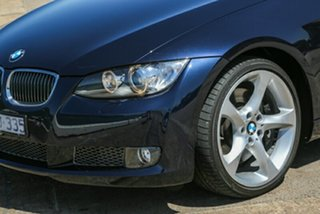 2009 BMW 3 Series E93 MY09.5 Blue 7 Speed Sports Automatic Dual Clutch Convertible