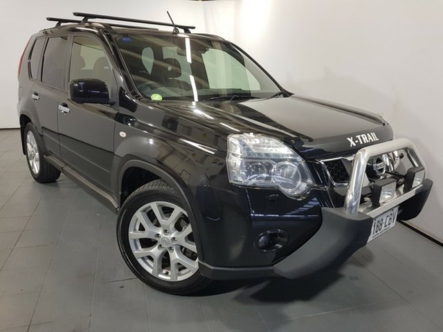 Used Nissan X-Trail T31 Series IV TI, 2012 Nissan X-Trail T31 Series IV TI Black 1 Speed Constant Variable Wagon