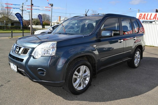 Used Nissan X-Trail T31 MY11 ST (FWD), 2011 Nissan X-Trail T31 MY11 ST (FWD) Blue Continuous Variable Wagon