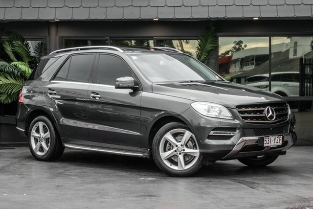 Used Mercedes-Benz ML250 W166 BlueTEC 7G-Tronic +, 2013 Mercedes-Benz ML250 W166 BlueTEC 7G-Tronic + Grey 7 Speed Sports Automatic Wagon