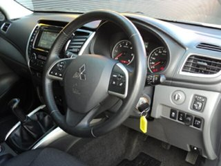 2015 Mitsubishi Triton MQ MY16 GLS Double Cab Alpine White 6 Speed Manual Utility
