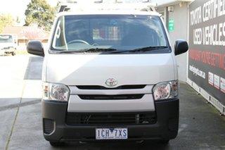 2014 Toyota HiAce KDH201R MY14 LWB French Vanilla 5 Speed Manual Van