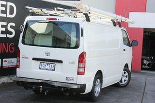 2014 Toyota HiAce KDH201R MY14 LWB French Vanilla 5 Speed Manual Van.