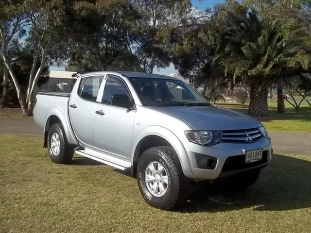 Used Mitsubishi Triton MN MY15 GLX Double Cab, 2014 Mitsubishi Triton MN MY15 GLX Double Cab 4 Speed Sports Automatic Utility