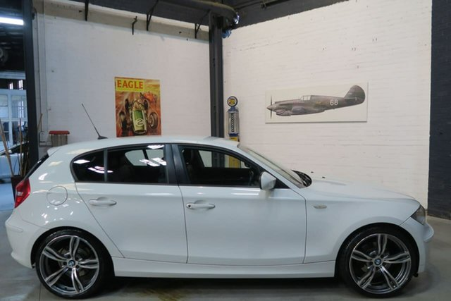 Used BMW 1 Series E87 MY11 , 2011 BMW 1 Series E87 MY11 White 6 Speed Sports Automatic Hatchback