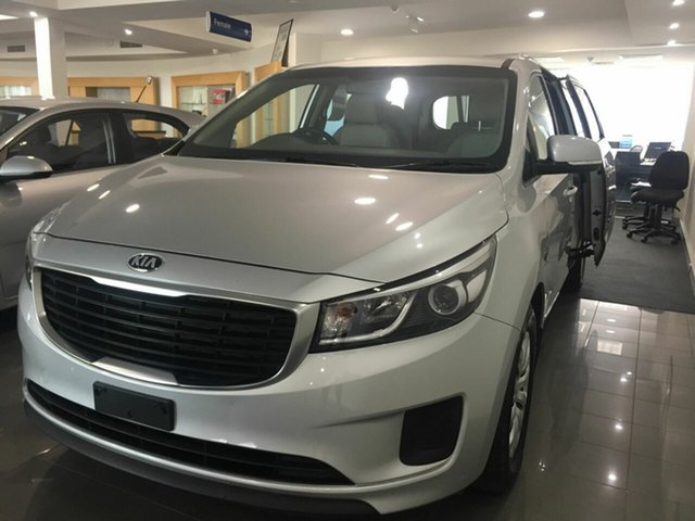 Used Kia Carnival YP MY17 S, 2017 Kia Carnival YP MY17 S Silver 6 Speed Sports Automatic Wagon