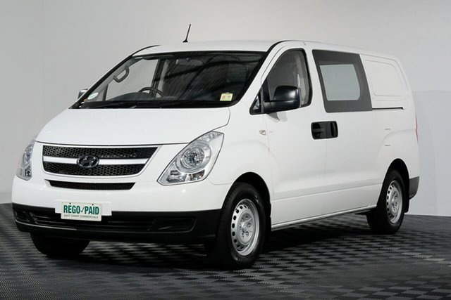 Used Hyundai iLOAD TQ-V MY14 , 2014 Hyundai iLOAD TQ-V MY14 White 5 speed Manual Van