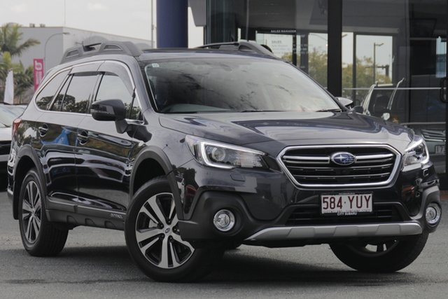 Demo Subaru Outback B6A MY18 2.5i CVT AWD Premium, 2018 Subaru Outback B6A MY18 2.5i CVT AWD Premium Dark Grey 7 Speed Constant Variable Wagon